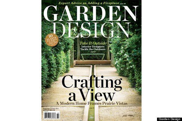 Garden design magazine relaunches huffpost for Garten design magazin