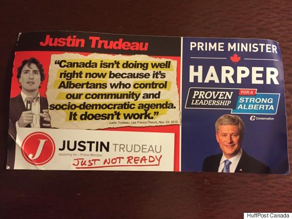conservative flyer trudeau