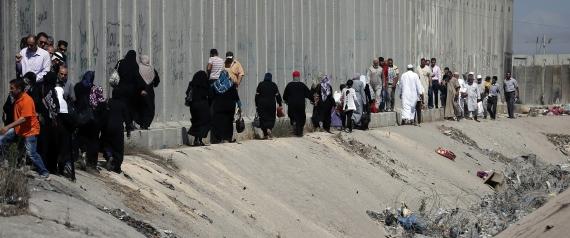 ISRAELI GAZA WALL