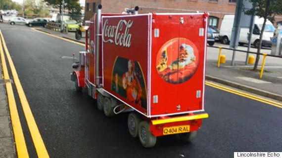 coca cola mobility scooter barrie hall