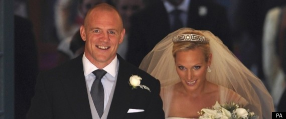 Mike Tindall Zara Phillips
