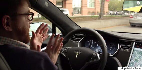 tesla autopilot mode