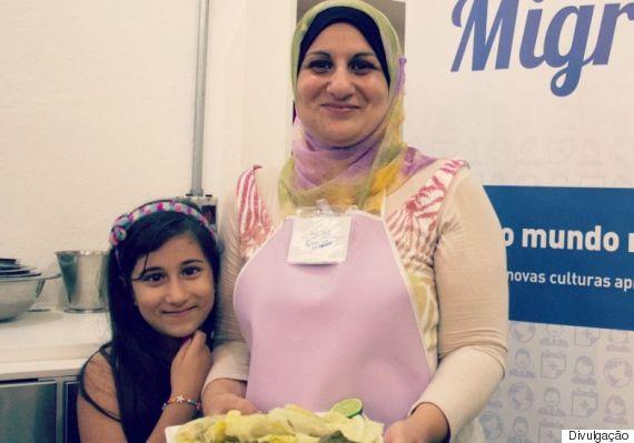 culinária síria refugiados