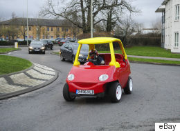 This Adult-Sized 'Little Tikes' Car Is Now Up For Sale On eBay