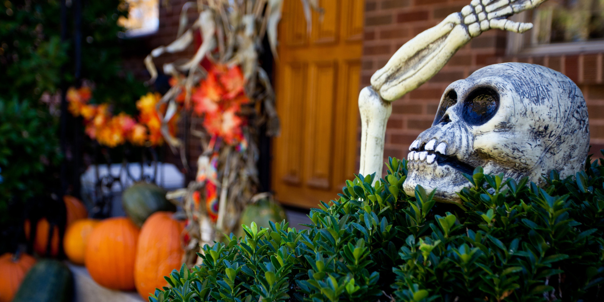 why im a halloween grinch huffpost - Fright Catalog Halloween Decorations