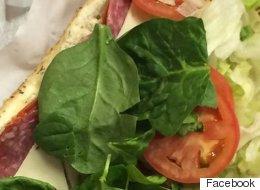 Hombre ordena sándwich en Subway, y viene con ratón incluido
