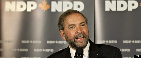 Thomas Mulcair Ndp Leadership Topp Party President