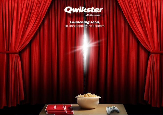 qwikster  netflix to split dvd service into new business