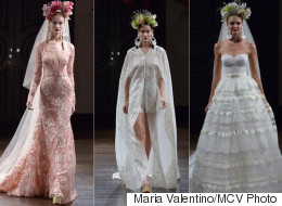 Naeem Khan's Fall 2016 Wedding Dress Collection Is Boldly Bohemian