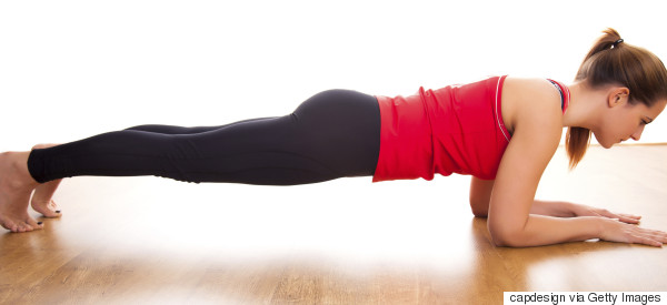 plank excercise