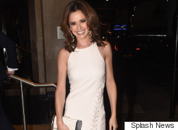 Cheryl Puts Her Best Foot Forward At Ant And Dec's Star-Studded Birthday Bash