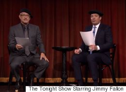 Tom Hanks And Jimmy Fallon Act Out Movie Scenes Re-Written By Children