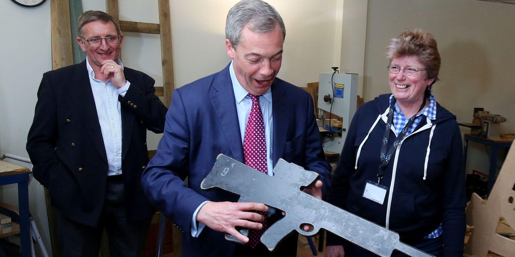 Nigel Farage Blasts Britain's Gun Control Laws As 'Repressive'   HuffPost UK