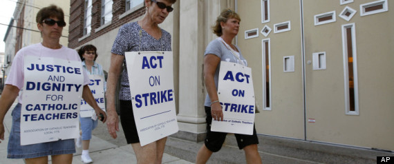 Catholic Teachers Strike