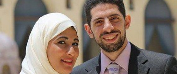 KARIM HISHAM AND HIS WIFE