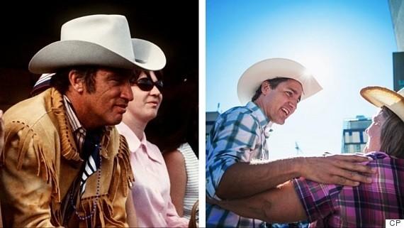 trudeau cowboy hat