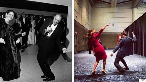 trudeau dancing