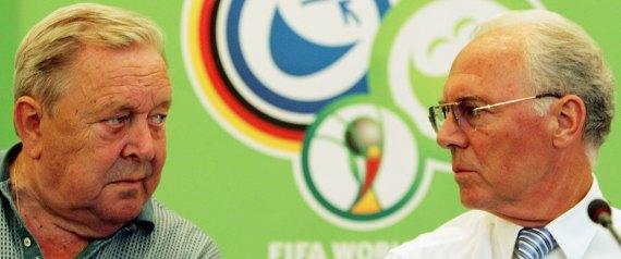 FRANZ BECKENBAUER WORLDCUP 2006