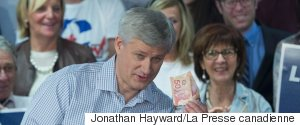 STEPHEN HARPER MONEY