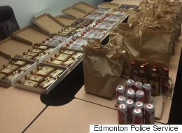 Edmonton Restaurant Busted For Booze Hidden In Pizza Boxes