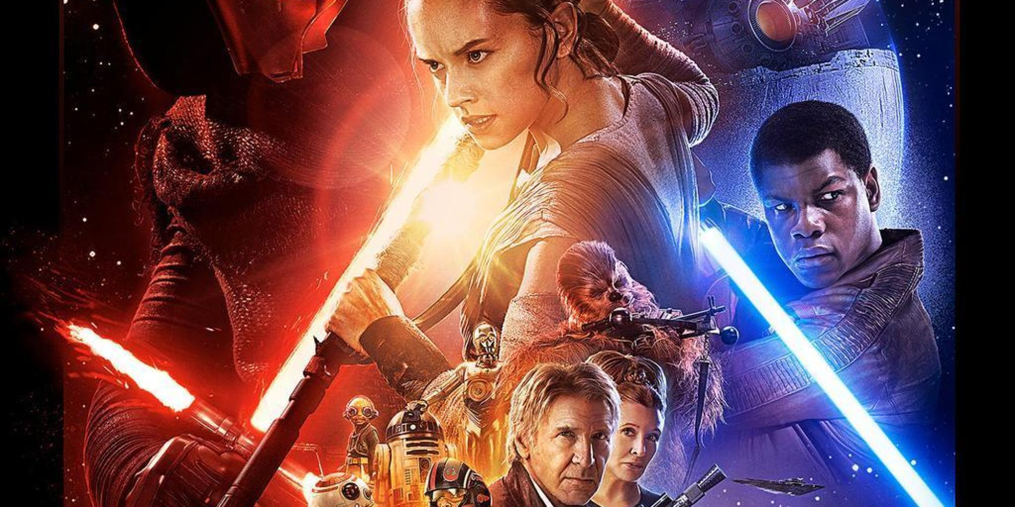star wars the force awakens new poster unveiled as hype builds towards december release. Black Bedroom Furniture Sets. Home Design Ideas