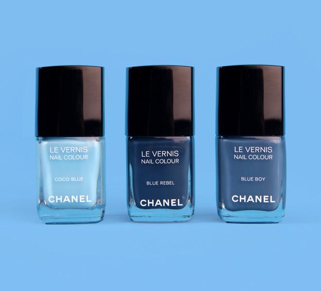 Les Jeans De Chanel Nail Polish Beauty Lab Huffpost