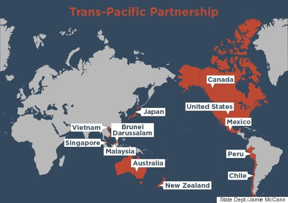 Why The Tpp Is An Economic Nato Huffpost