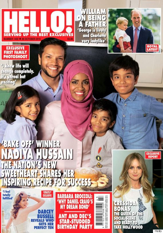 nadiya bake off hello magazine