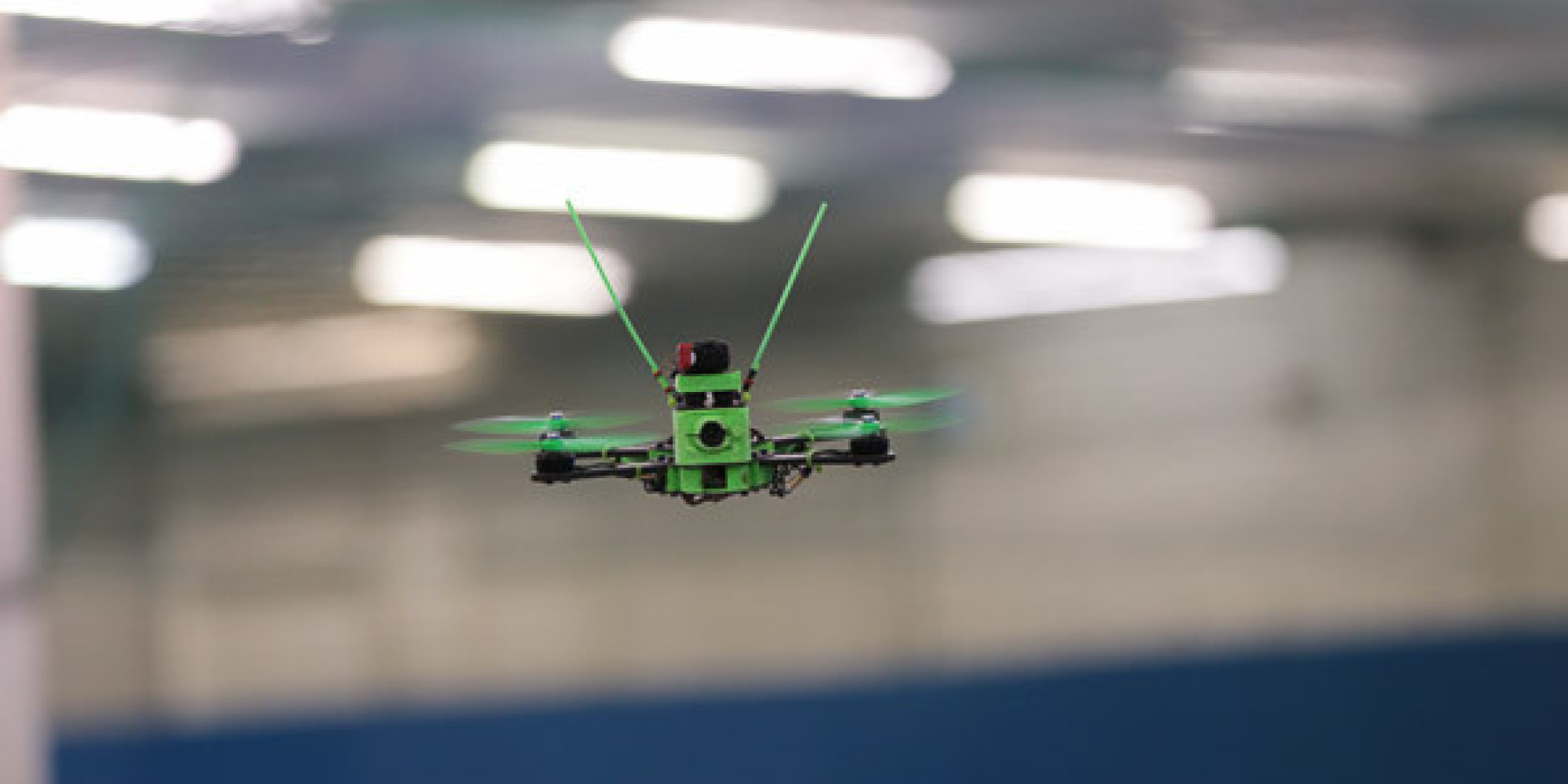 London Hosts Its First Indoor 'Fast And Furious-Style' FPV Drone ...
