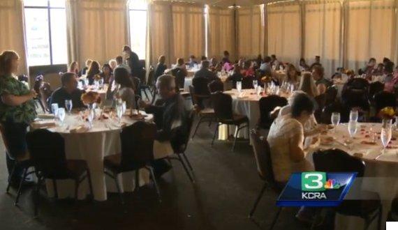 wedding feast for homeless