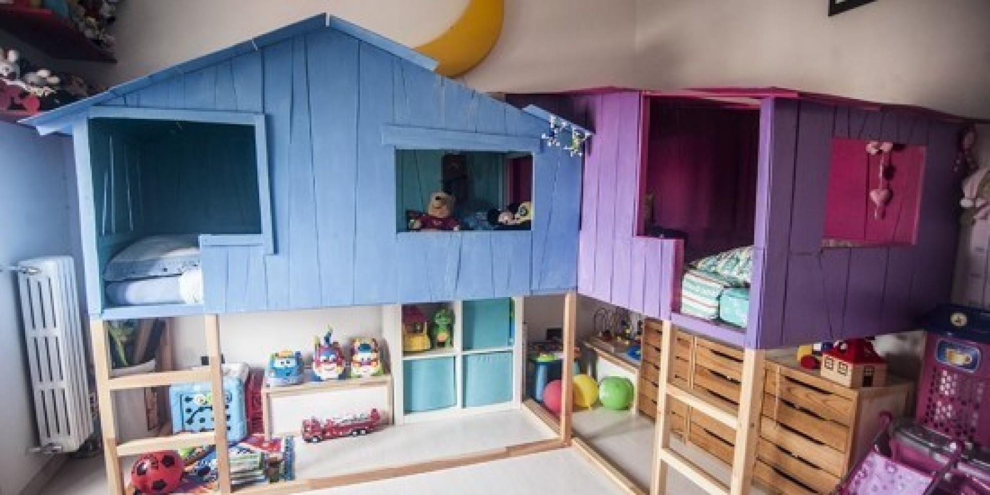 ikea hacks these cool toddler beds will make your kids love bedtime. Black Bedroom Furniture Sets. Home Design Ideas