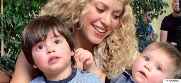 Mira lo que le enseña ahora Shakira a Milan