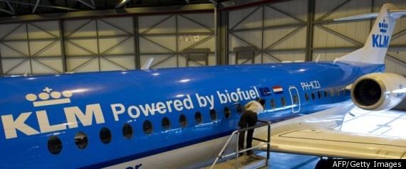 AIRPLANES BIOFUELS