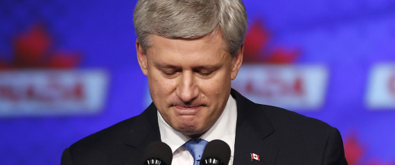 STEPHEN HARPER DEFEAT