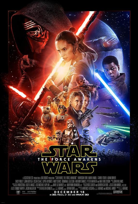 star wars 7 affiche reveil de la force