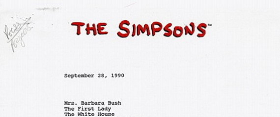 MARGE SIMPSON BARBARA BUSH