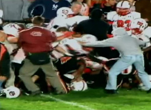 Sharon Hickory Football Brawl