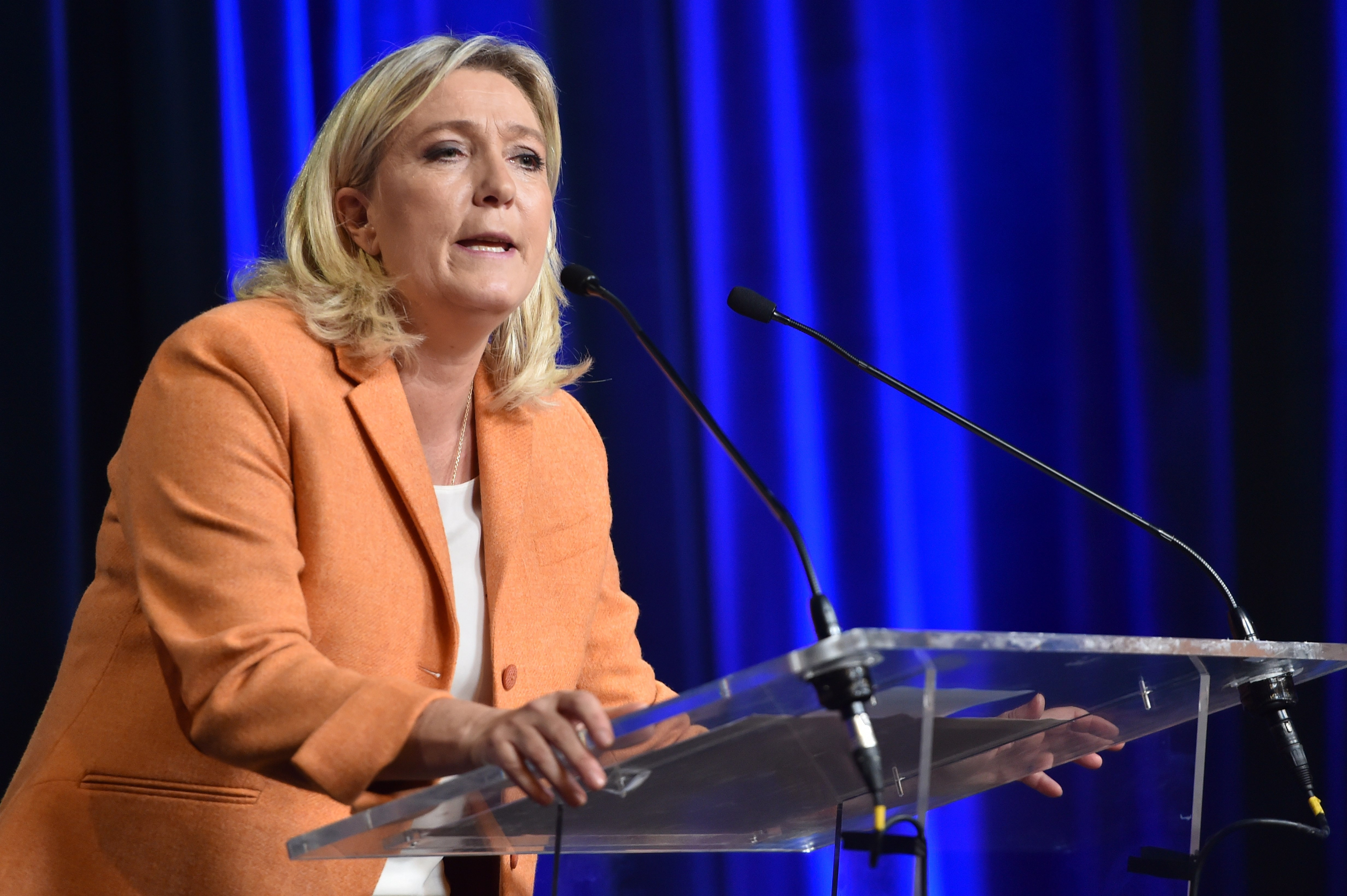 president of french farright party front national