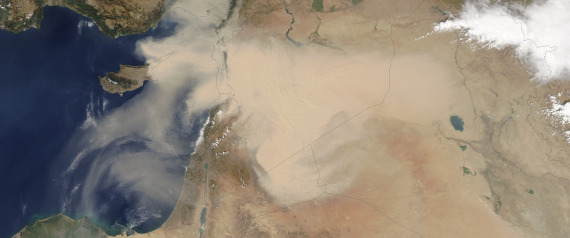 DUST BOWL IN MIDDLE EAST