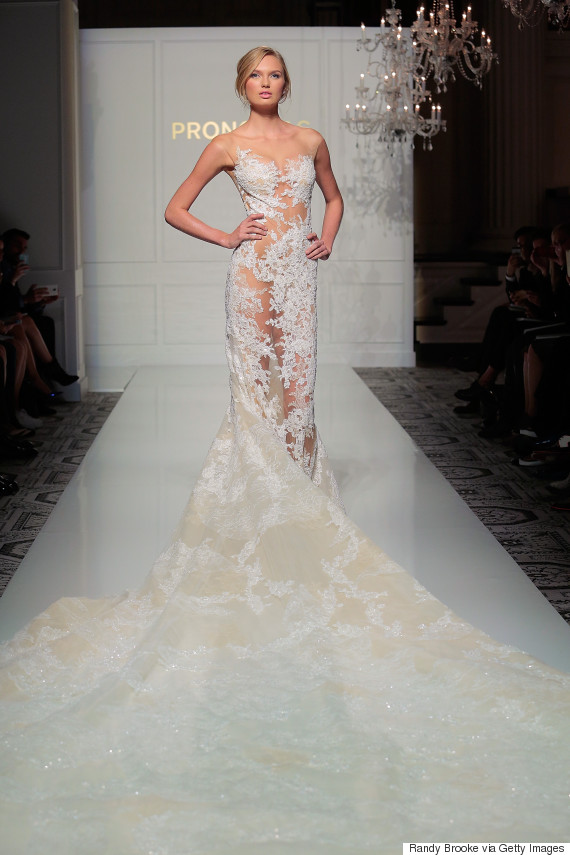 Sexy wedding dresses 39 naked 39 is the hottest trend at for Most sexy wedding dresses