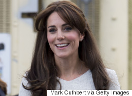The Duchess Of Cambridge Gets All Sparkly In A Tiara