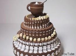 Ce gâteau au chocolat animé va vous hypnotiser! (VIDÉO)