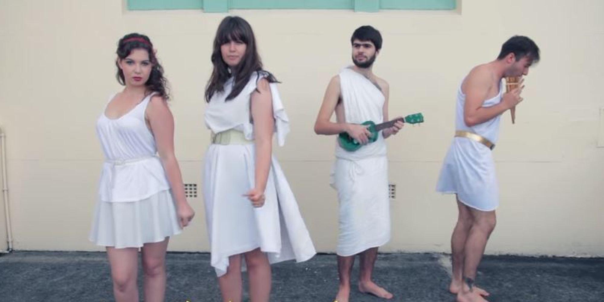 Nεοζηλανδοί φοιτητές έφτιαξαν την αρχαιοελληνική διασκευή του Mamma Mia