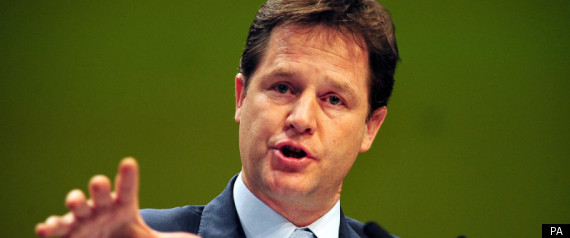 NICK CLEGG SPEECH