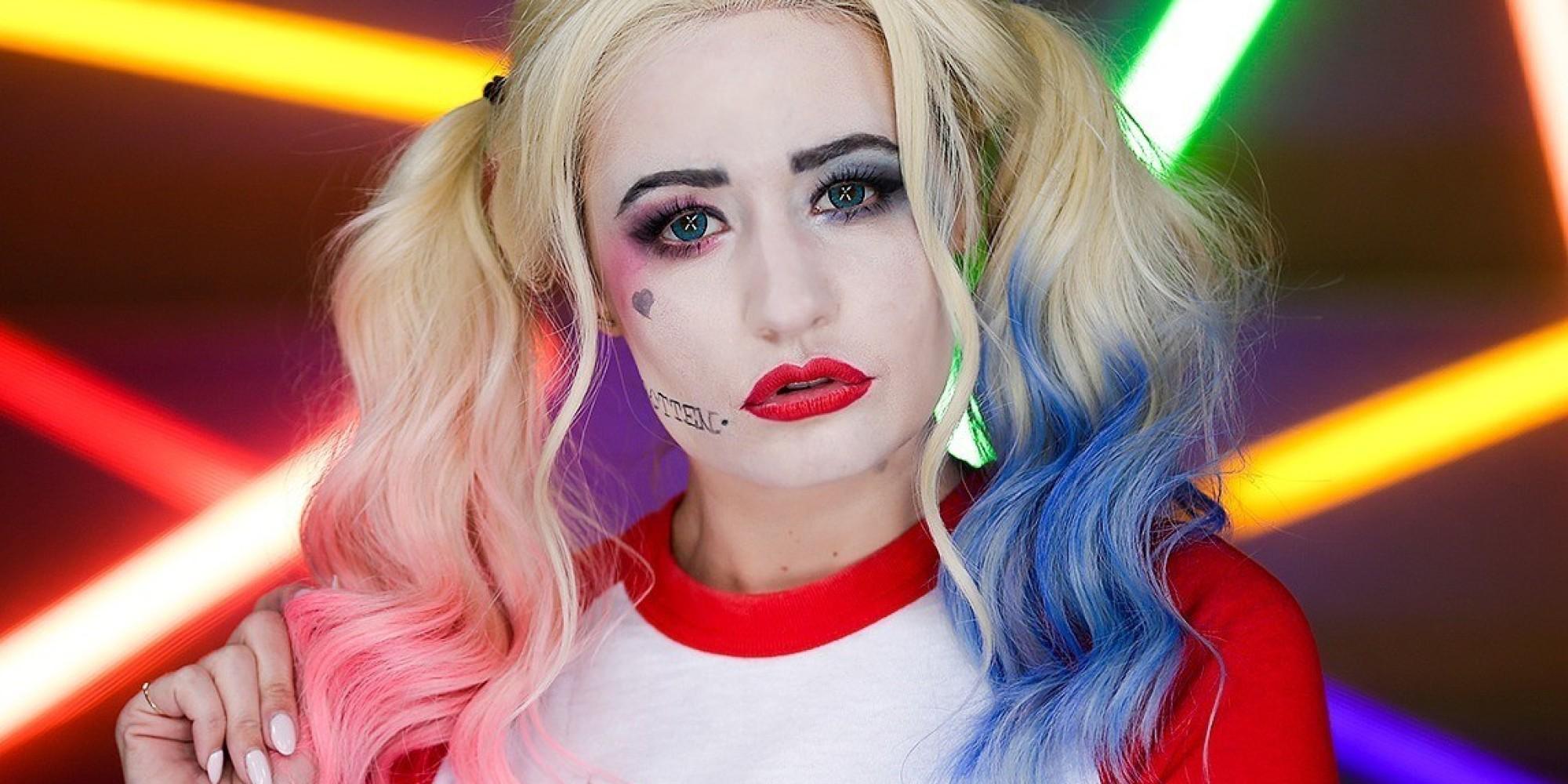 Harley Quinn Makeup Tutorial Squad - Mugeek Vidalondon