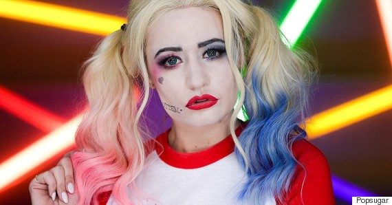 harley quinn makeup tutorial