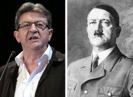 Melenchon ne veut pas être associé à Hitler