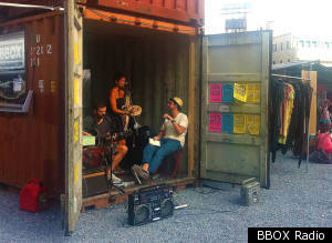 bbox radio station that broadcasts from brooklyn shipping container starts kickstarter video. Black Bedroom Furniture Sets. Home Design Ideas