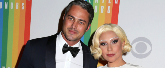 LADY GAGA AND HER FIANCE