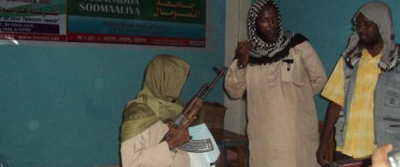 SOMALIA RADIO CONTEST CHILDREN AK47 PRIZE